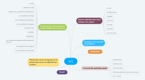 Mind Map: MLE