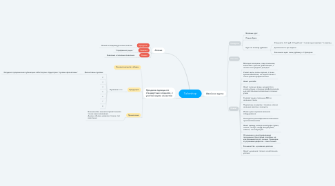 Mind Map: Tailorshop
