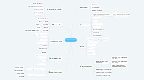 Mind Map: MODELO CANVAS