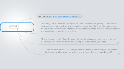 Mind Map: Igor Kulic, CNRS quotations