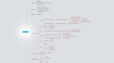 Mind Map: Luce Fotografica