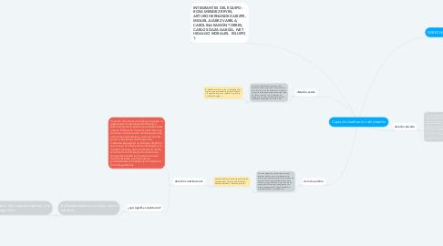 Mind Map: Copia de clasificación del derecho