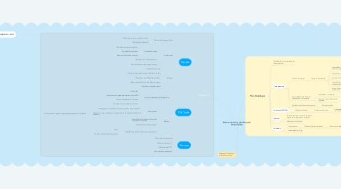 Mind Map: Estructuración y planificación del proyecto