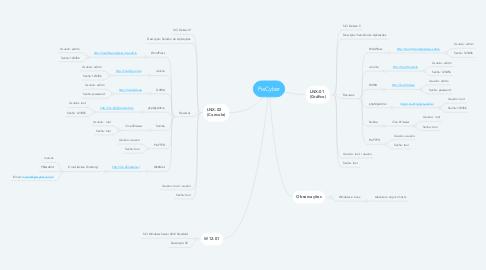 Mind Map: PwCyber