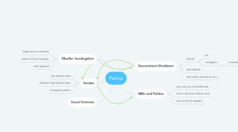 Mind Map: Politics