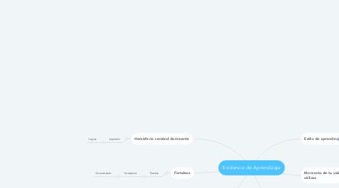 Mind Map: Evidencia de Aprendizaje