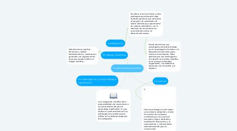 Mind Map: Fundamentos generales
