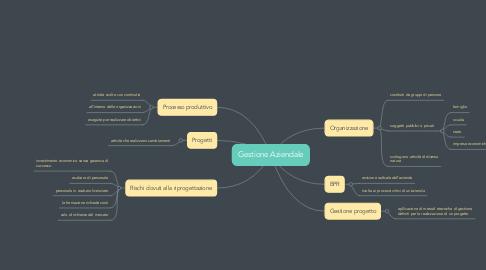 Mind Map: Gestione Aziendale