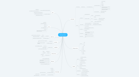 Mind Map: Working towards a sustainable future.