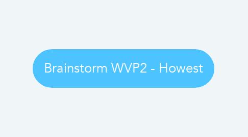Mind Map: Brainstorm WVP2 - Howest