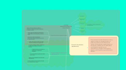 Mind Map: CULTURA ORGANIZACIONAL, ES EL CONJUNTO DE: