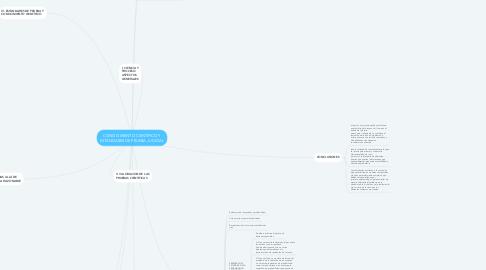 Mind Map: CONOCIMIENTO CIENTÍFICO Y ESTÁNDARES DE PRUEBA JUDICIAL
