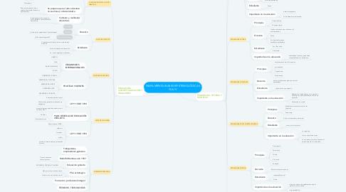 Mind Map: MAPA MENTAl-BASES EPISTEMOLÓGICAS YULI V