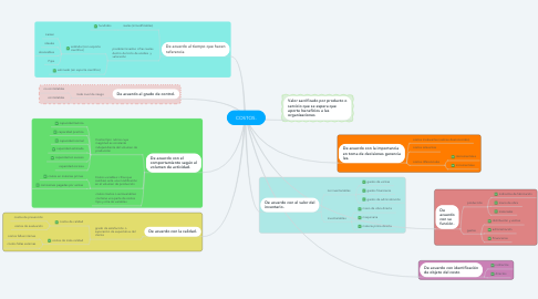 Mind Map: COSTOS.