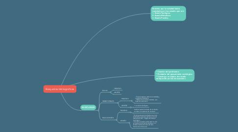 Mind Map: Búsquedas bibliografícas