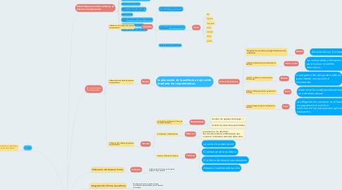 Mind Map: Metodologías de auditoria de sistemas computacionales.