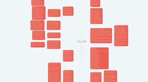 Mind Map: Desarrollo de estrategias y programas de precios