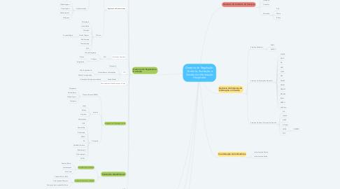 Mind Map: Diretoria de Regulação, Controle, Avaliação e Gestão da Informação Hospitalar