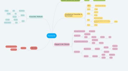 Mind Map: Fasnacht