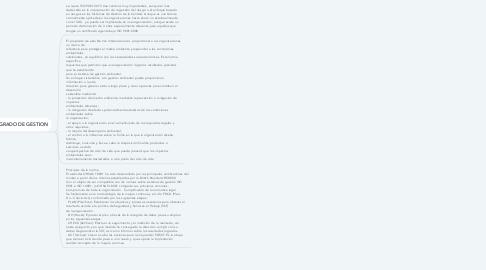 Mind Map: sistema de gestión de la calidad
