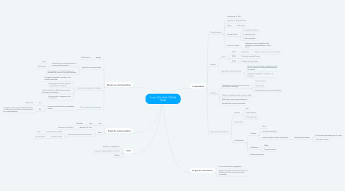 Mind Map: Projet SOLANN DREAM TEAM
