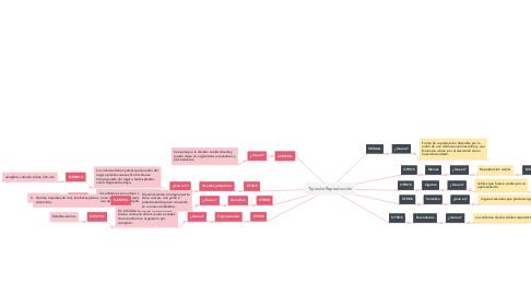Mind Map: Tipos de Reproducción