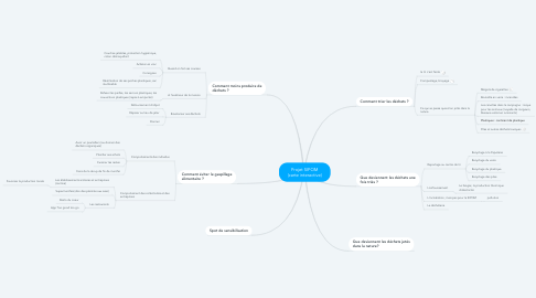 Mind Map: Projet SIPOM (carte interactive)