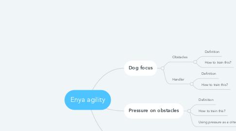 Mind Map: Enya agility