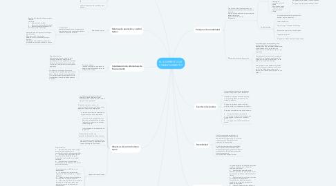 Mind Map: EL SEGMENTO DE  FINANCIAMIENTO
