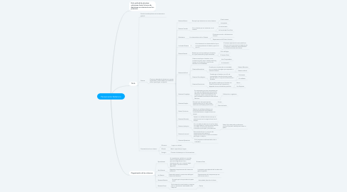 Mind Map: Pensamiento Sistèmico