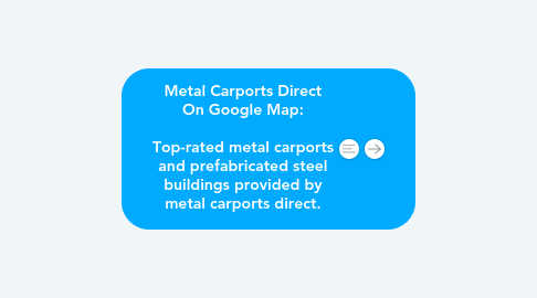 Mind Map: Metal Carports Direct On Google Map:   Top-rated metal carports and prefabricated steel buildings provided by metal carports direct.