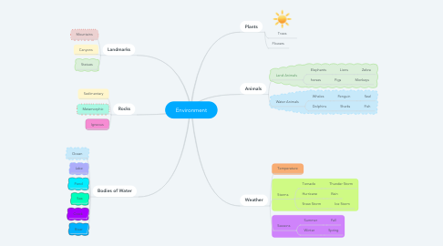 Mind Map: Environment