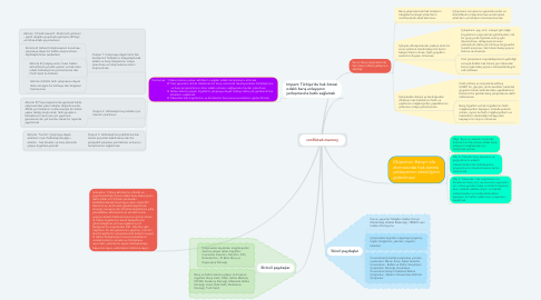 Mind Map: conflicted-memory