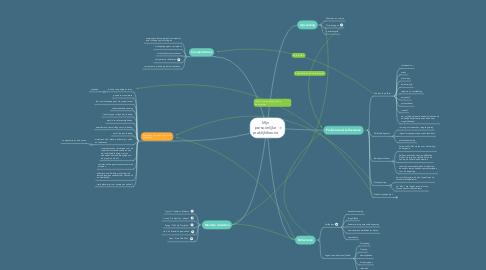 Mind Map: Mijn persoonlijke praktijktheorie