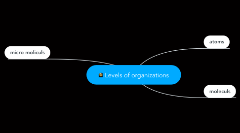 Mind Map: Levels of organizations