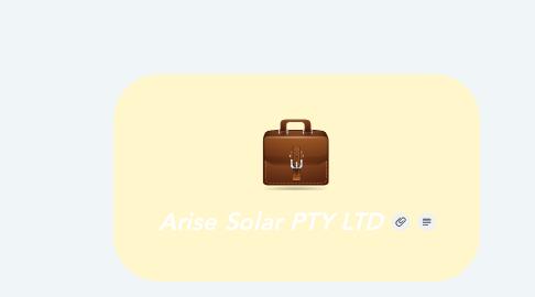 Mind Map: Arise Solar PTY LTD