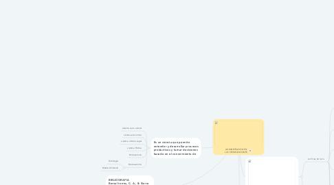 Mind Map: ADMINISTRACIÓN EN LAS ORGANIZACIONES