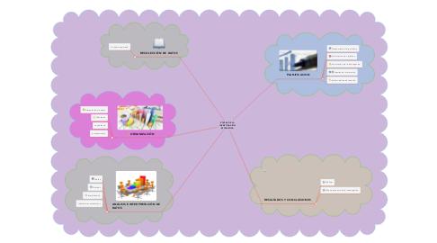 Mind Map: ETAPAS DE LA INVESTIGACION ESTADISTICA