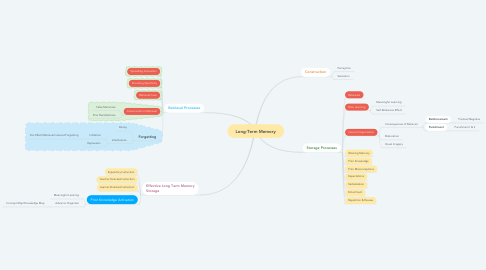 Mind Map: Long-Term Memory