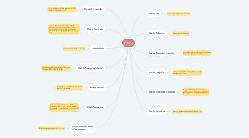 Mind Map: Matriz