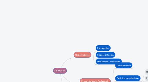Mind Map: La Prueba
