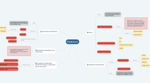 Mind Map: Metabolisme