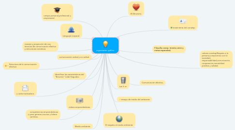 Mind Map: organizador gráfico.
