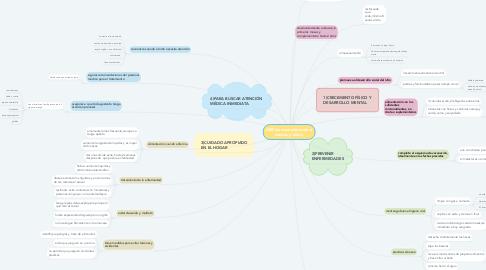 Mind Map: AIEPI(recomendaciones a madres y niños)