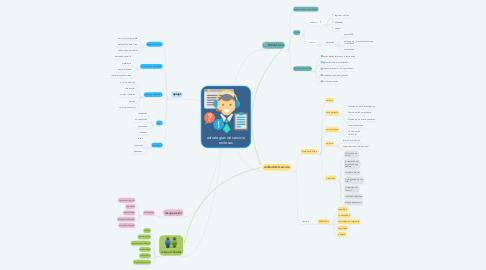 Mind Map: estrategias de servicio exitosas