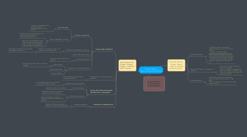 Mind Map: Trabajo Práctico. Exportar e Importar Cojines