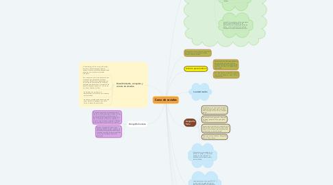 Mind Map: Curso de sociales