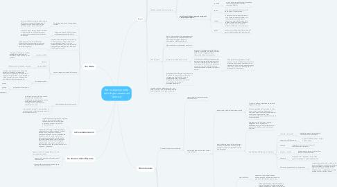 """Mind Map: Reti e relazioni nella sociologia relazionale """"classica"""""""