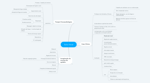 Mind Map: Sulco Vocal