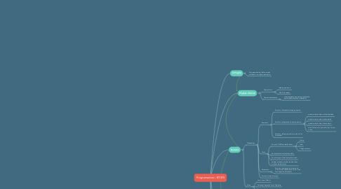 Mind Map: Programadoro - BTSFS